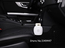2*  White Host & Gold Back Clip  Nillkin Qi Wireless Charging Charger  Magnetic Phone  for  Benz   9-16v/5w