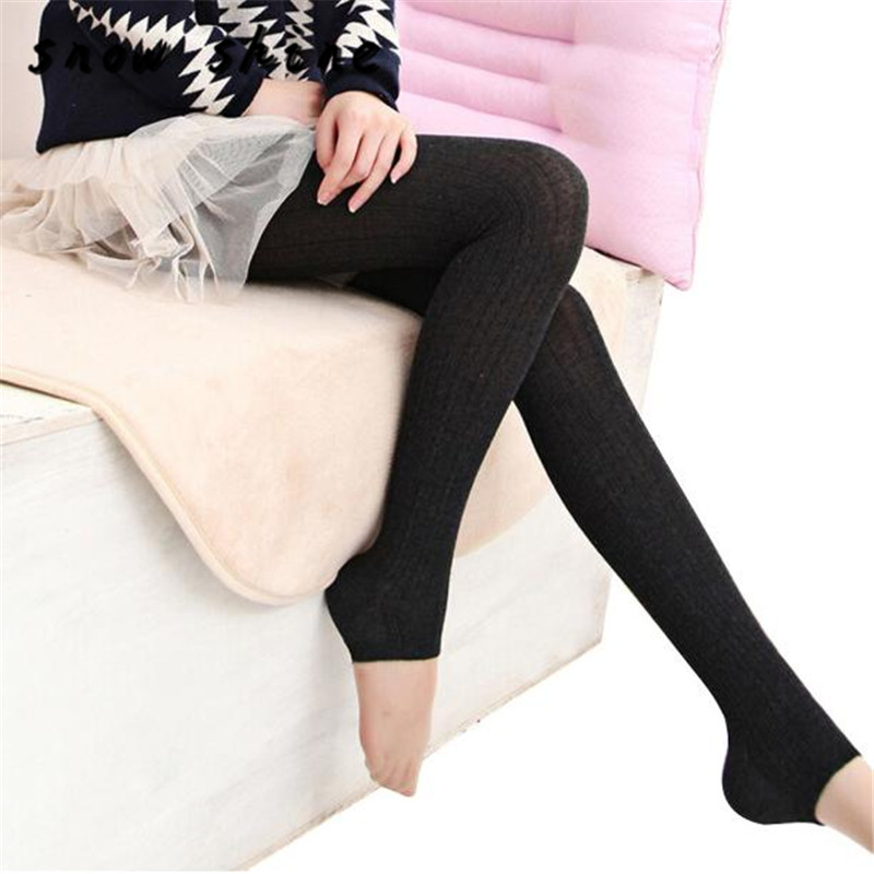 snowshine YLIW Winter Warm Women Lady Skinny Slim Stretch Pants free shipping