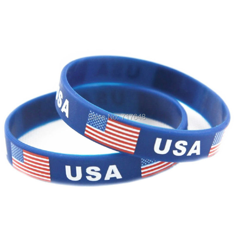 get cheap usa silicone wristbands aliexpress