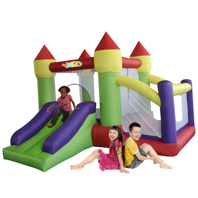 YARD Kids Inflatable Toys Outdoor Bounce House Combo Slide with Ball Pit for Party Events Special Offer for Africa