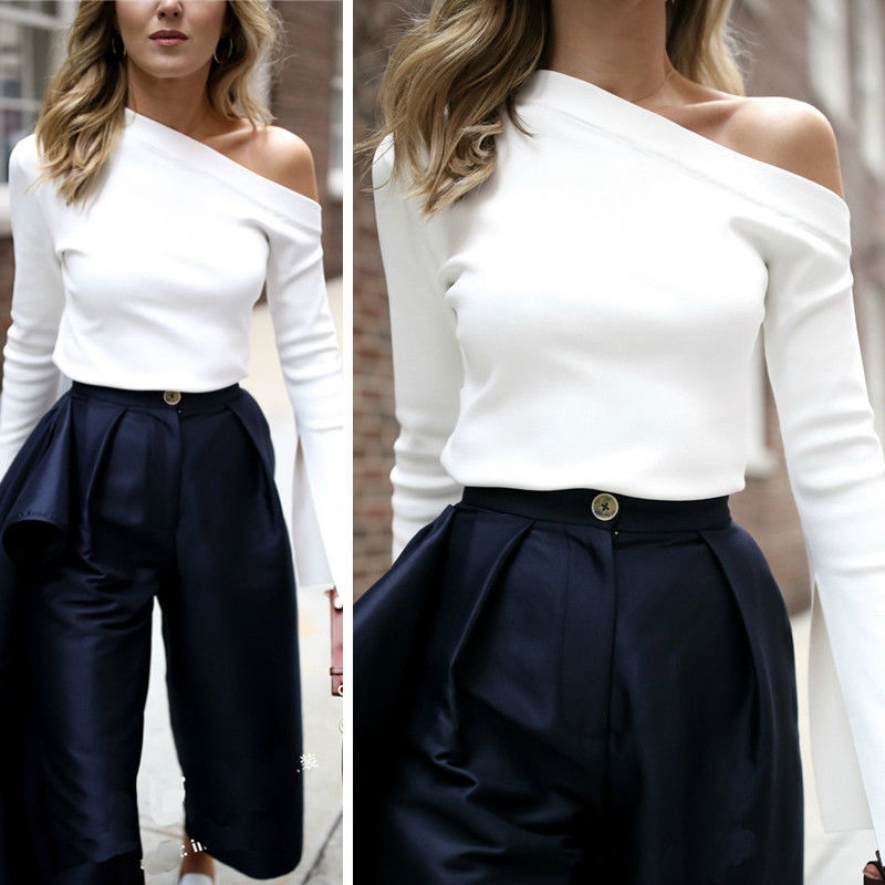 Elegant Ladies Blouse Coat White Shirt Women Aesthetic -4501
