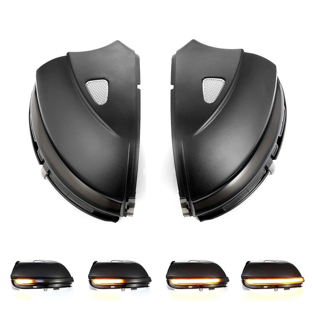 2 pièces LED rétroviseur dynamique indicateur pour VW Passat CC B7 Beetle Scirocco Jetta MK6 LED aile latérale clignotant dynamique