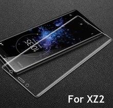 9 H 3D Volledige Cover Gehard Glas Voor Sony XZ2 H8216/66/96 Screen Protector Beschermende Film voor xperia XZ2 Compact H8314/24 Guard