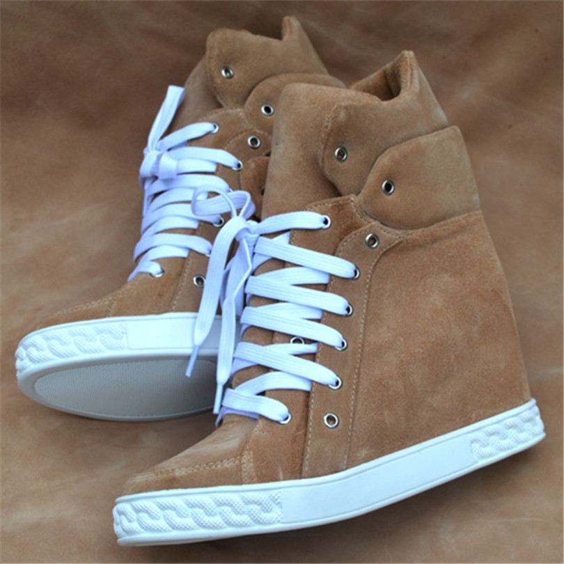 Winter Shoes Round Toe Shoes Woman Winter Boots Cow Suede Botas Mujer Zapatos Mujer Bottes Femmes2018 Botines Mujer Ankle Boots
