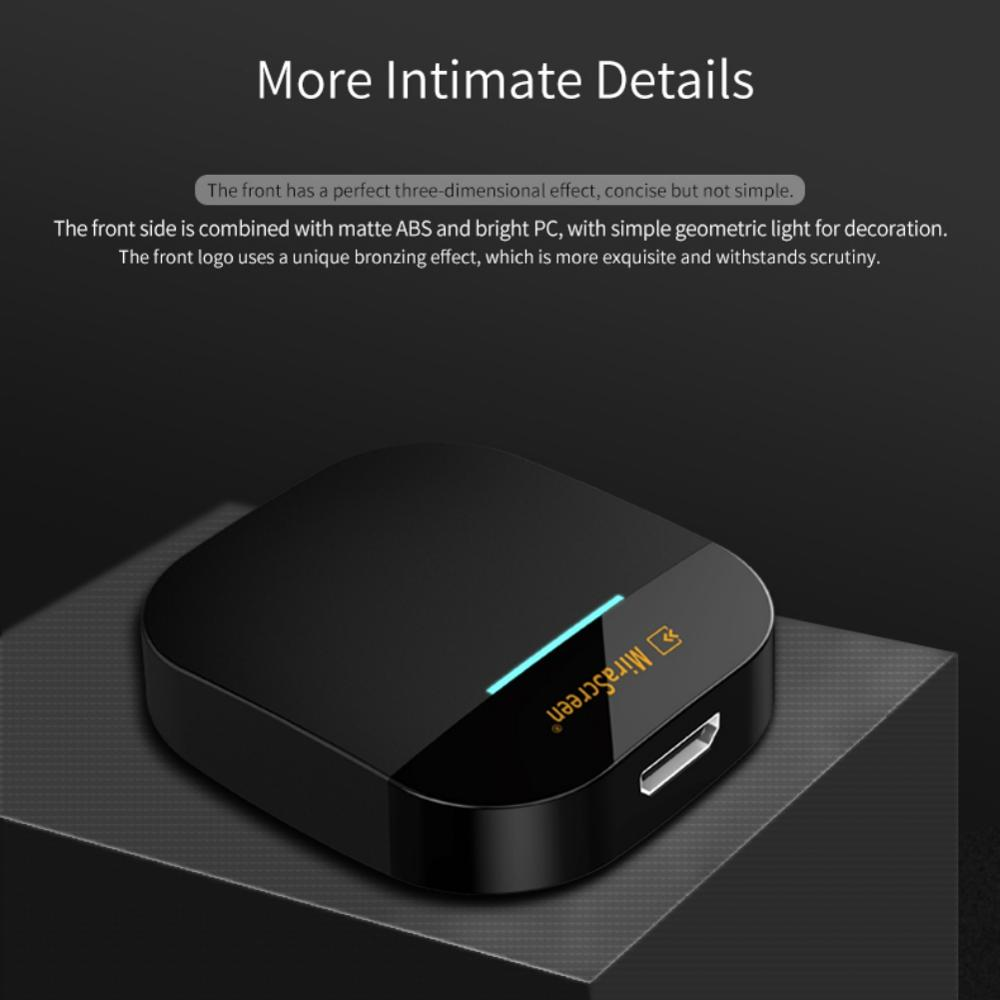 2.4G/5G Miracast Any Cast Wireless DLNA AirPlay HDMI TV Stick Wifi Display Dongle Receiver for IOS Android PC Laptop(China)