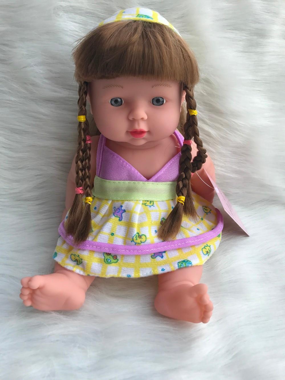 12 Inches Reborn Baby Doll Soft Vinyl Silicone Lifelike