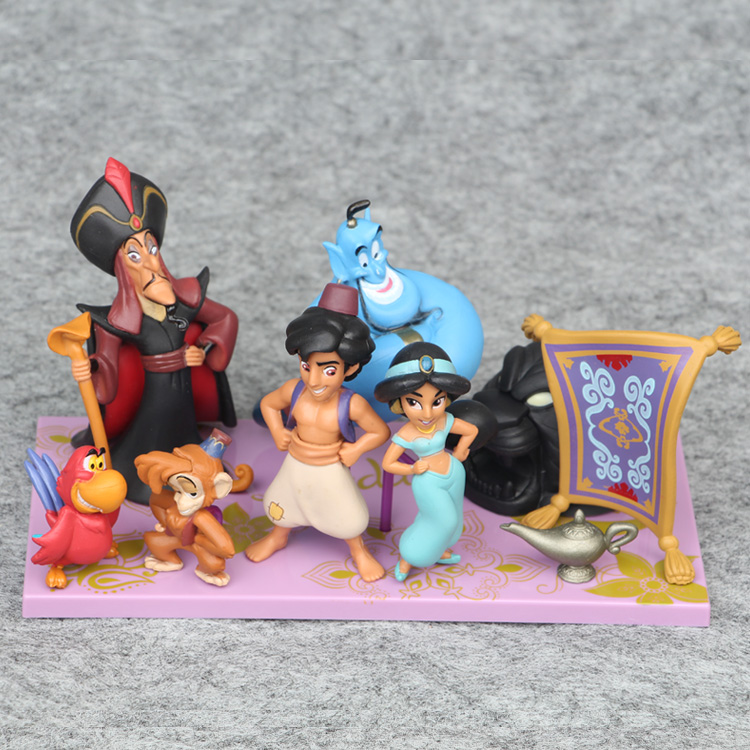 Disney Princess Toys 2 10cm 8cps/Set Aladdin And The Magic ...