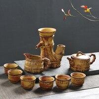 Belle Cadeaux Boîte En Céramique à Thé Boule À Thé Chinois Thé Tasses Partie à Thé Cadeaux De Mariage pour Meilleurs Amis B030-1