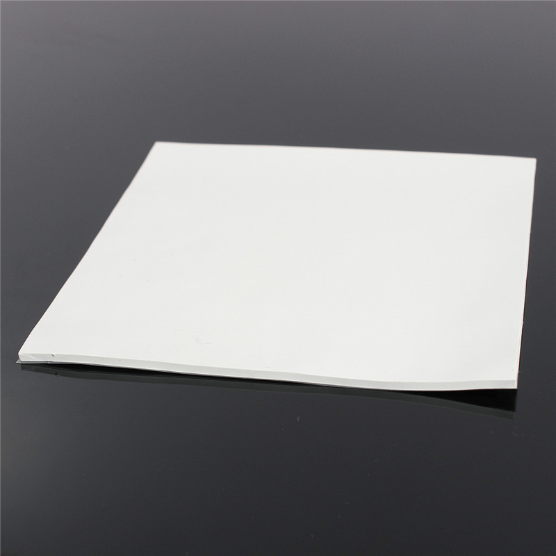 100x100x2mm CPU Heatsink Pad Cooling Conductive Silicone Pad Thermal Pad GPU Conductive Silicone Pad For PC CPU Chipset Cooler thermal pads conductive heatsink thermal silica sheet viscous adhesive for chip cpu gpu ram led ic cooler led radiator cooling