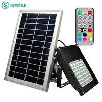 20led 56led LED Solar Lights Waterproof Solar Lamps Multi Function RGBWW Led Floodlights Waterproof Outdoor Lights