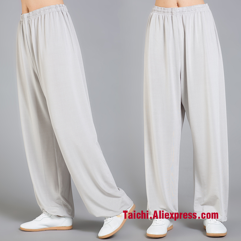 Tai Chi Pants   Martial Art Yoga  Pants Wu Shu  Pants ,icesilk Fabric