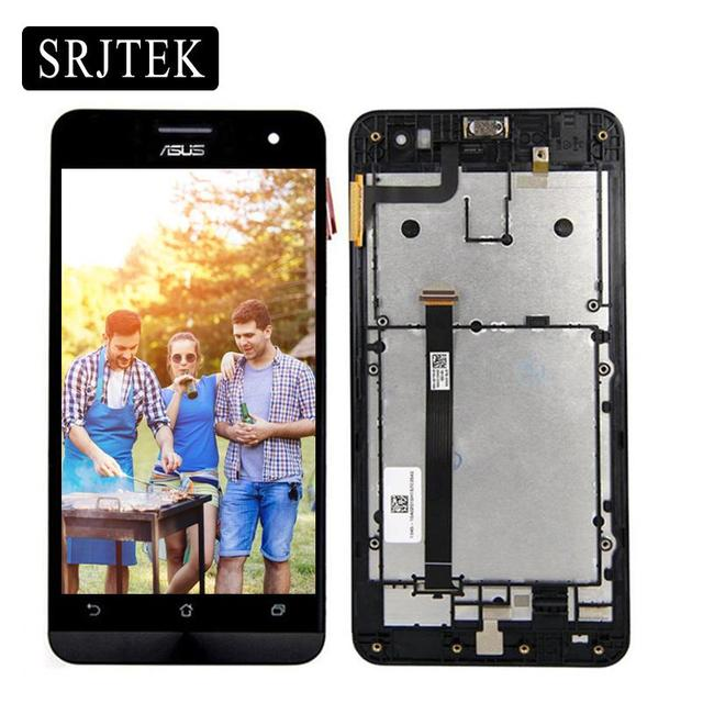 For Asus Zenfone 5 A500CG A500KL A501CG T00J LCD Touch Screen Digitizer Glass With Frame 100% Tested 3M Tape+Tools