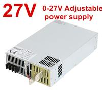 3000W 27V Power Supply 0 27V Adjustable Power 27VDC AC DC 0 5V Analog Signal Control SE 3000 27 Power Transformer 27V 44A