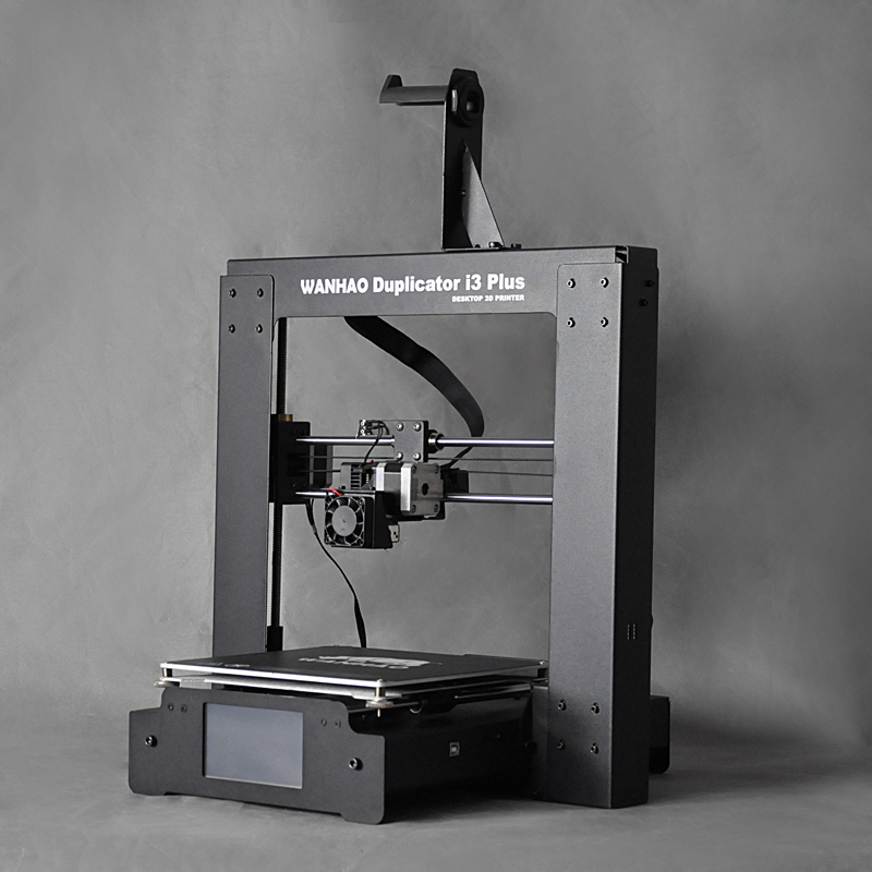 Big / Hot Sale WANHAO i3 Plus 3D Printer,with high precision,Steel Frame impresora 3d printer ,with Good Touch LCD display 2018 new upgrade wanhao i3 plus 2 0 wanhao i3 plus mk2 reprap developer prusa wanhao 3d printer with touch screen auto level