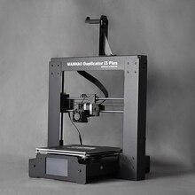 Grande/Venta Caliente i3 Plus 3D WANHAO Impresora, con alta precisión, Estructura De Acero impresora 3d impresora, con Buena pantalla Táctil LCD
