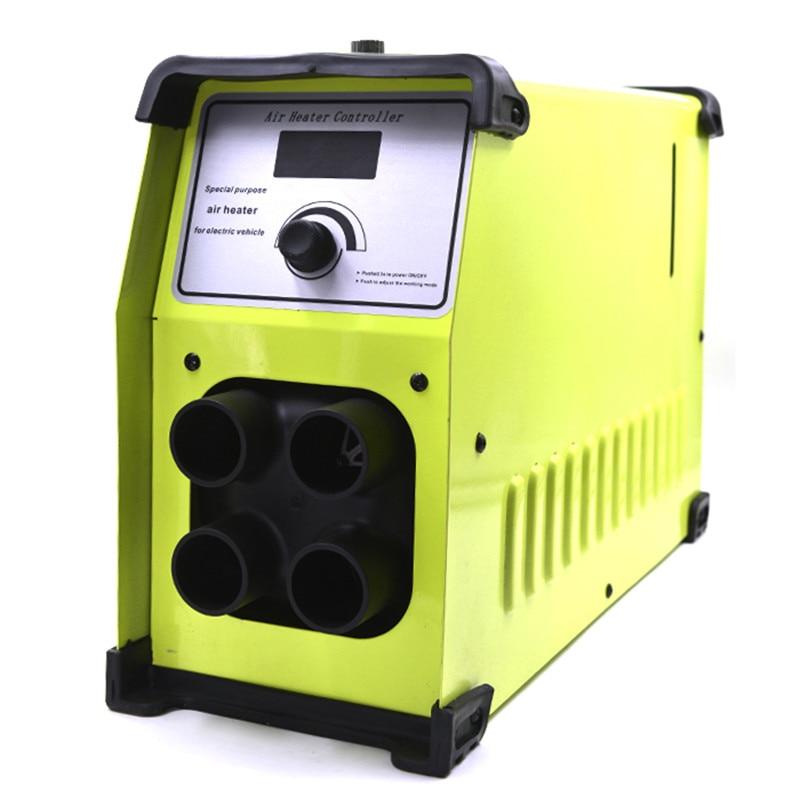 Chauffage de la voiture 12 v/24 v/72 v/220 v 5000 w L'intégration Quatre Trous Air Diesels chauffe-chauffage de Contrôle LCD Moniteur