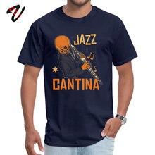 Leisure Cantina Jazz Band Men Top T-shirts 2019 Popular Autumn Xxxtentacion Tops T Shirt Crew Neck Pure Uruguay Clothing