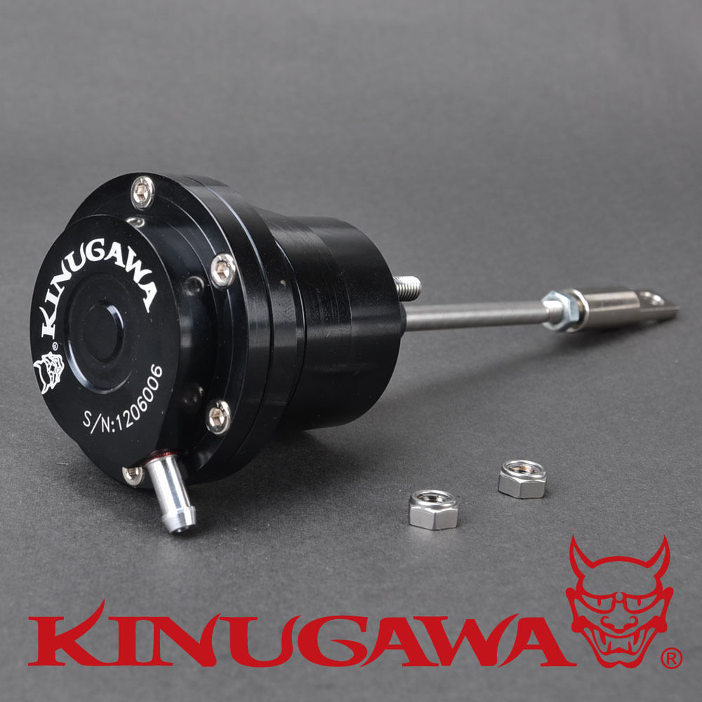 Kinugawa Adjustable Turbo Wastegate Actuator 147~158mm Rod Length 0.3 bar / 4.41 Psi