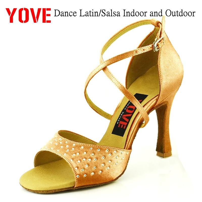 YOVE Style w134-30 Tanzschuhe Bachata / Salsa Damen-Tanzschuhe für - Turnschuhe