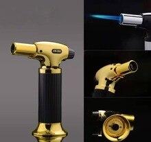 Torch Turbo Lighter Gun Spray Butane Cigar Gas Cigarette 1300 C Windproof Kitchen BBQ
