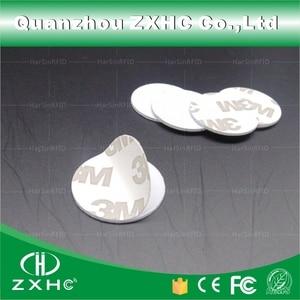 Image 1 - (1000 sztuk) 25mm 125 Khz karty rfid ID 3M naklejki monety karty TK4100 Chip kompatybilny EM4100 do kontroli dostępu