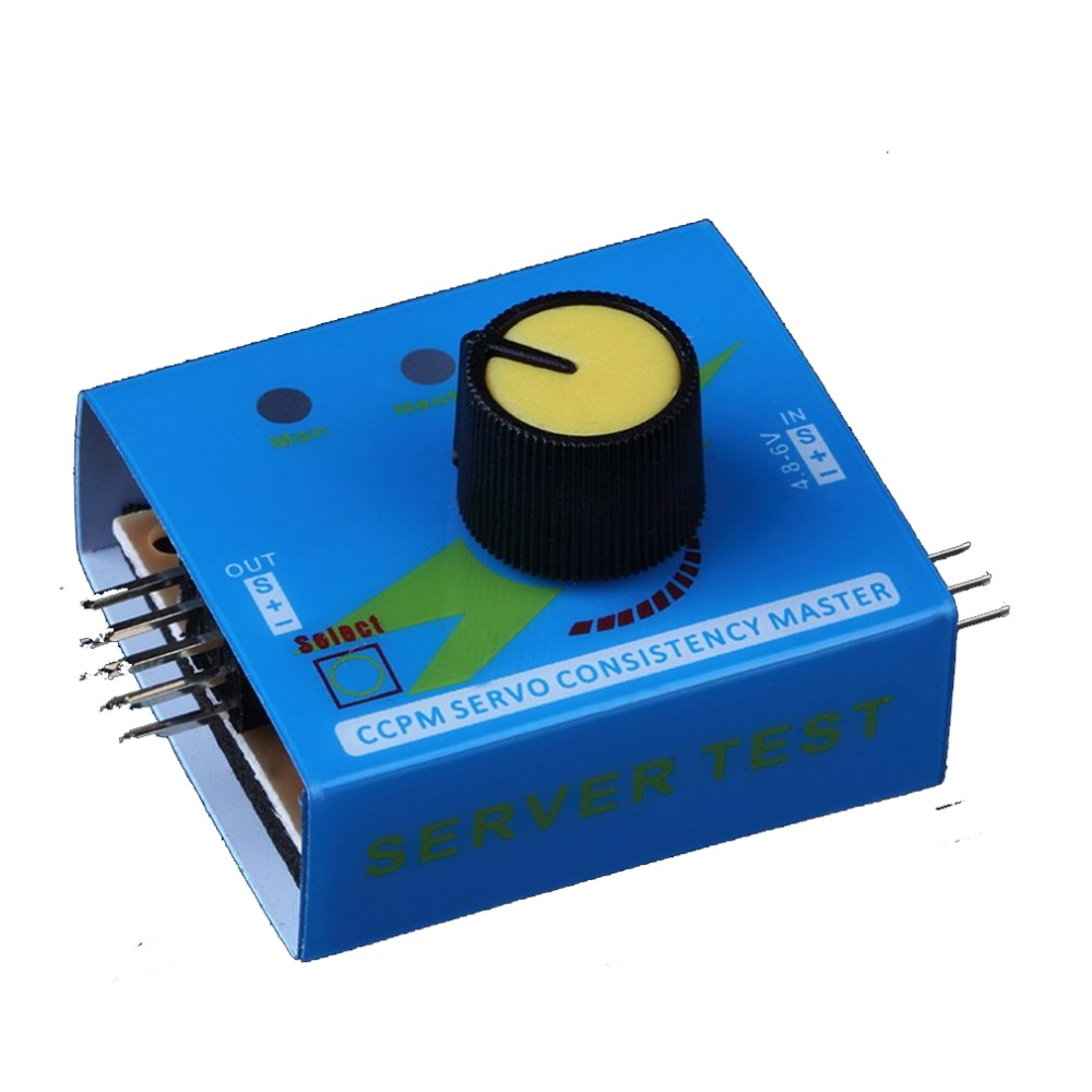 Profrssional Multi Servo Tester 3CH ECS Consistency Speed Controler Power Channels CCPM Meter Master Checker g t power 3ch esc servo tester ccpm consistency master checker tester 3 mode
