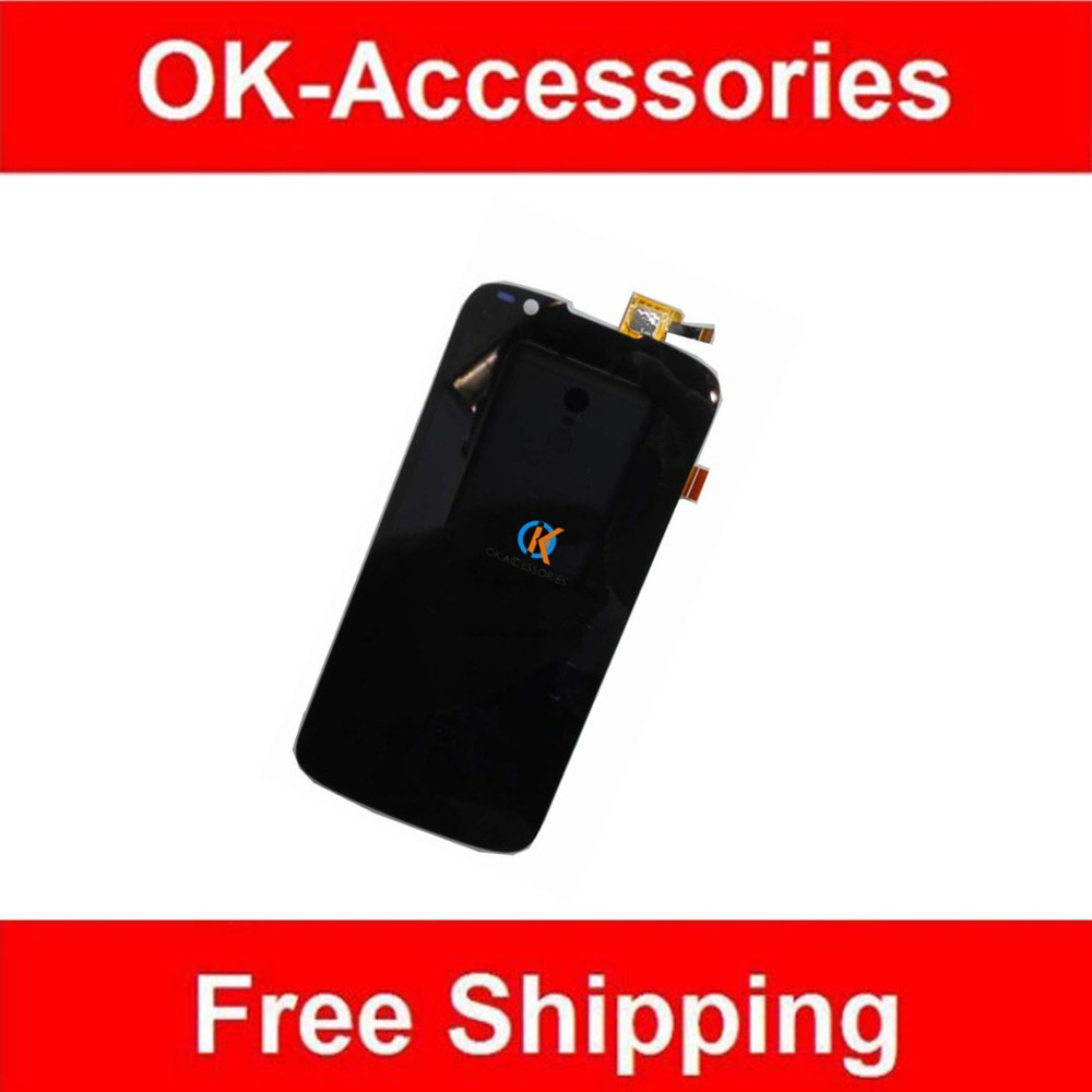 Black Color For Fly IQ4413 LCD Display Touch Screen Digitizer Assembly High Quality 1PC Lot Replacement