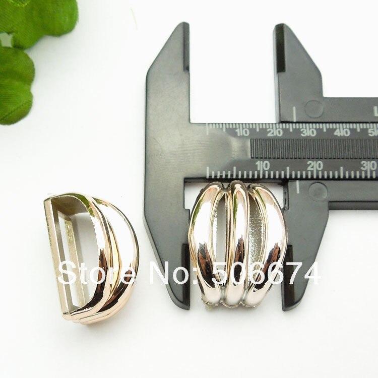Покрытием золото цвет 30 шт. DIY обуви интимные аксессуары для лук пряжки 12 * мм 23 мм, скользящая Пряжка для ленты ободок на голову, заколка