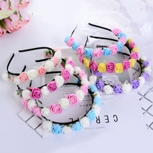 Boho Style Floral Flower Women Girls Hair Band Headband Wedding Festival Party