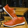 NALIMEZU Европа 2017 новых мужчин обувь дышащая микрофибра кожа мужская повседневная обувь Британский бизнес чистый zapatos hombre F065