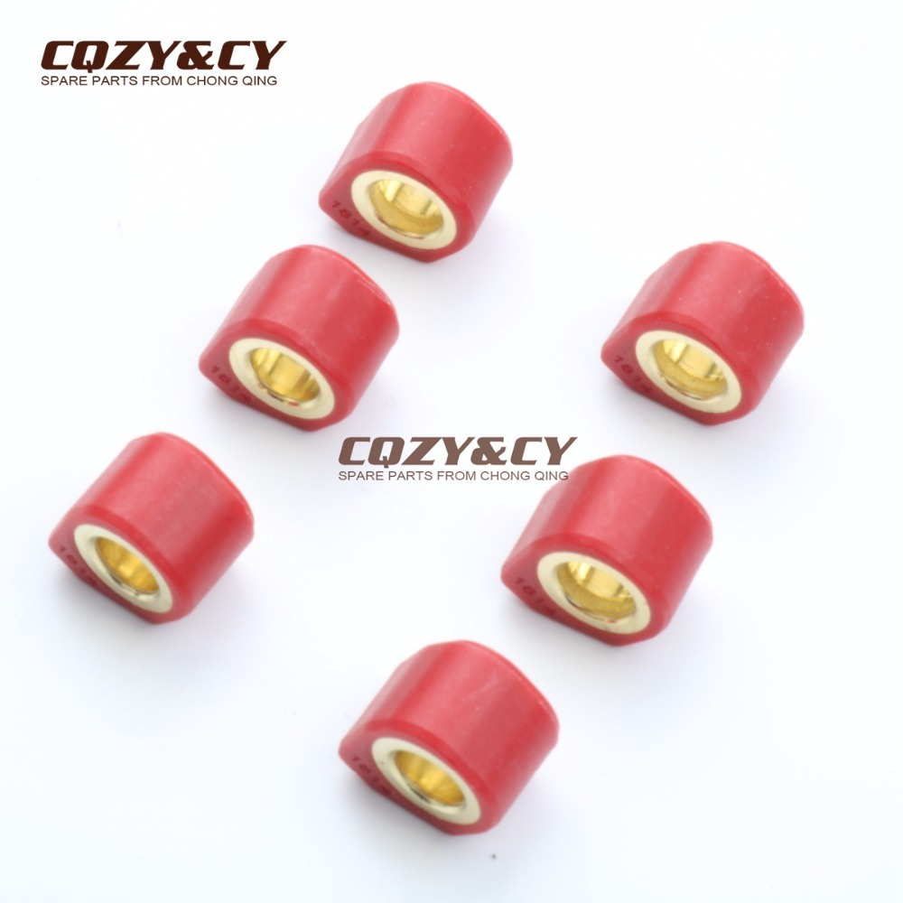 Polygon Roller Set Sliders 18x14mm 13g for KYMCO People 125 Vivio 125 Super 8 125 People One 125 Agility R16 Heroism 150|slider|slider oneslider rollers - AliExpress