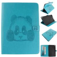 3D Embossing Panda Flip Cover With Strap For Ipad Air 2 Case For Apple Ipad 6