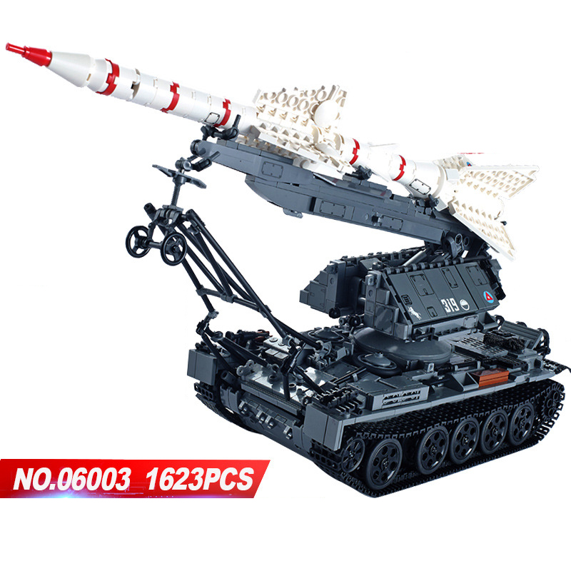 Hot modern military SA-2GUIDELINE cruise missile tank moc building block model bricks toys collection for adult children gifts hot modern military t92 tank moc building block model bricks toys collection for adult children gifts