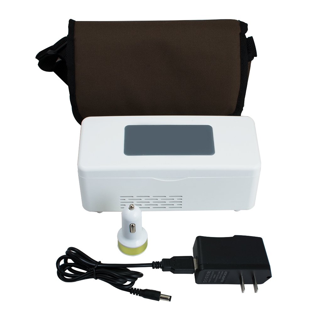 Portable Insulin Cooler Box Mini Drug Constant Temperature Refrigerator 2-8 Degree Celsius цена