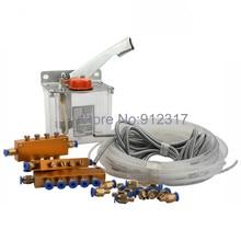 Manual Oil Pump for CNC Router Machine Oil Lubrication system недорго, оригинальная цена