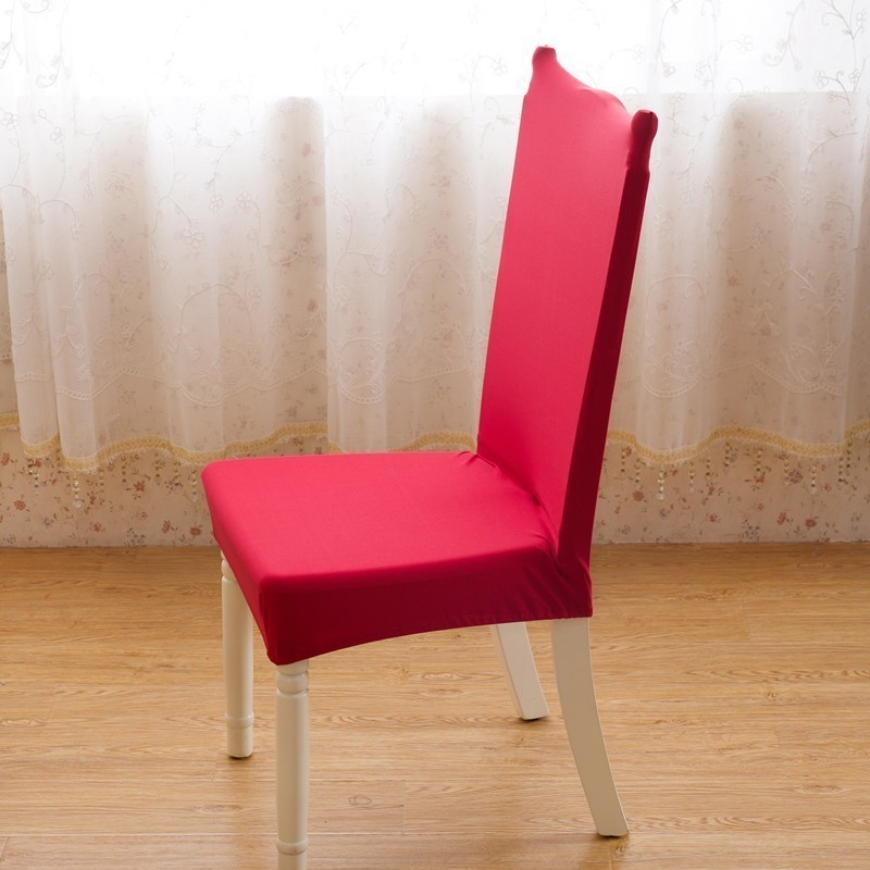 Dining Room Wedding Banquet Hotel Chair Covers Comfortable Wrinkle Resistant Spandex Stretch Chair Cover Mat Furniture Protector