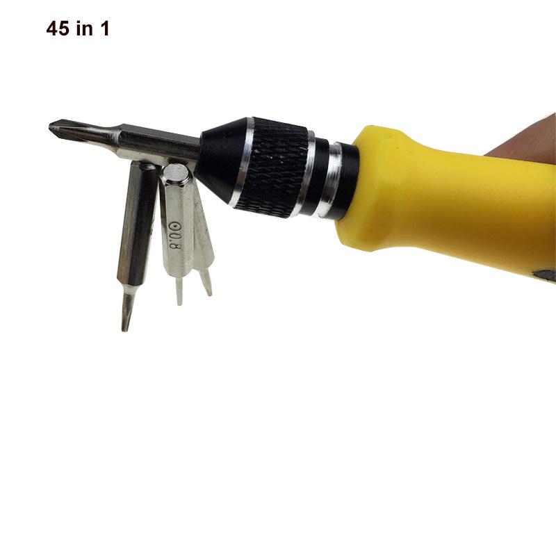 Mini Magnetic 45in1 Precision Screw Driver Set