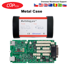 Multidiag pro+ CDP TCS bluetooth Single green board 2016.R0 Keygen software OBD2 auto dignostic tool OBDII scanner