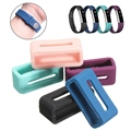 New!!!Replacement Silicone Security Wristband Clasp Ring Loop Fastener For Fitbit Alta