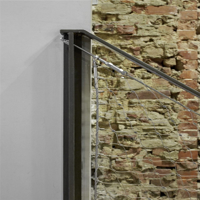 Online Shop Balustrade and railing protective stainless steel wire ...