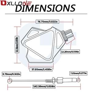 Image 5 - 오토바이 CNC 쉬운 당겨 스턴트 클러치 레버 시스템 야마하 DT 125 200 230 LANZA TDR 125 240 250 TTR 125 125L TW 125 200 225