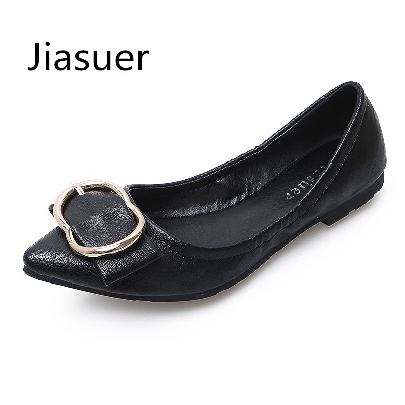 JIASUER Beautiful Flats Women Slip On Comfortable Casual Dress Pregnancy Pointed Toe Shoe Twisted Sole Soft Sweet Shoe Woman sweet women high quality bowtie pointed toe flock flat shoes women casual summer ladies slip on casual zapatos mujer bt123