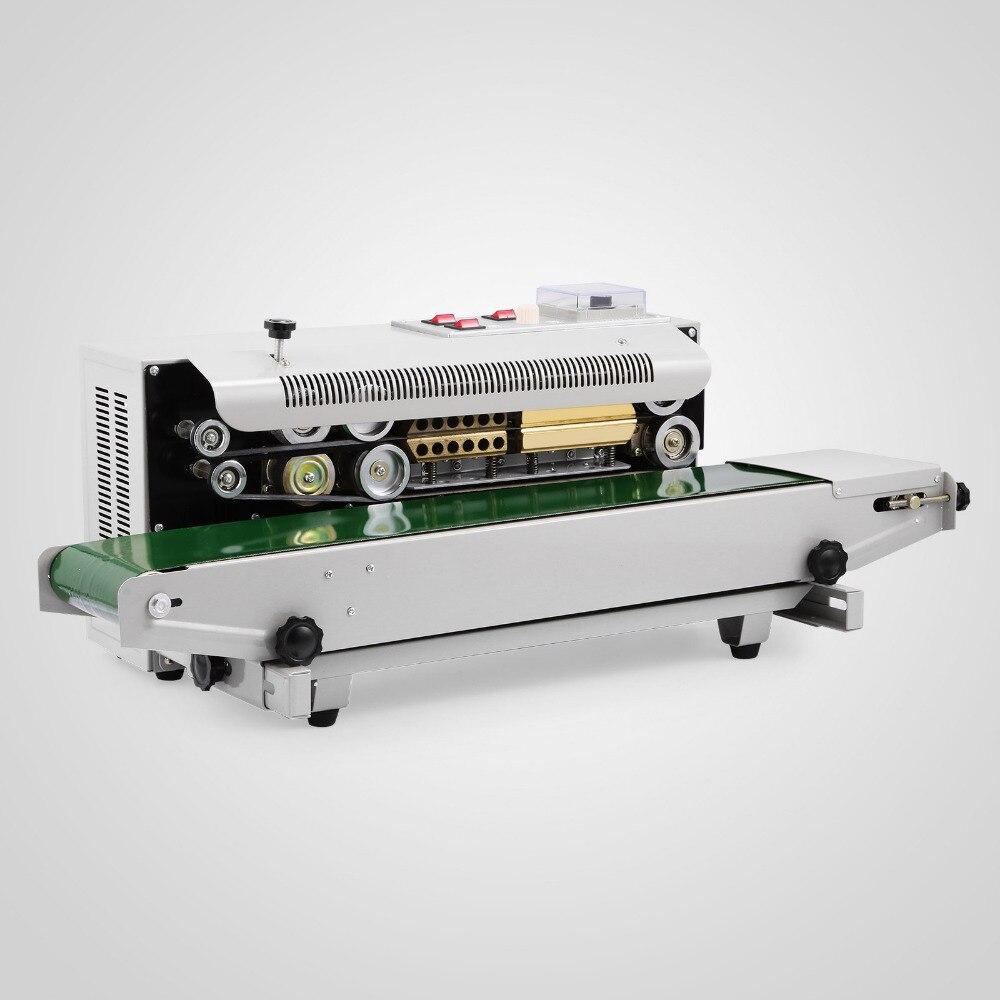 Automatic Sealing Machine Horizontal Continuous Sealer Constant Heat Plastic Bag