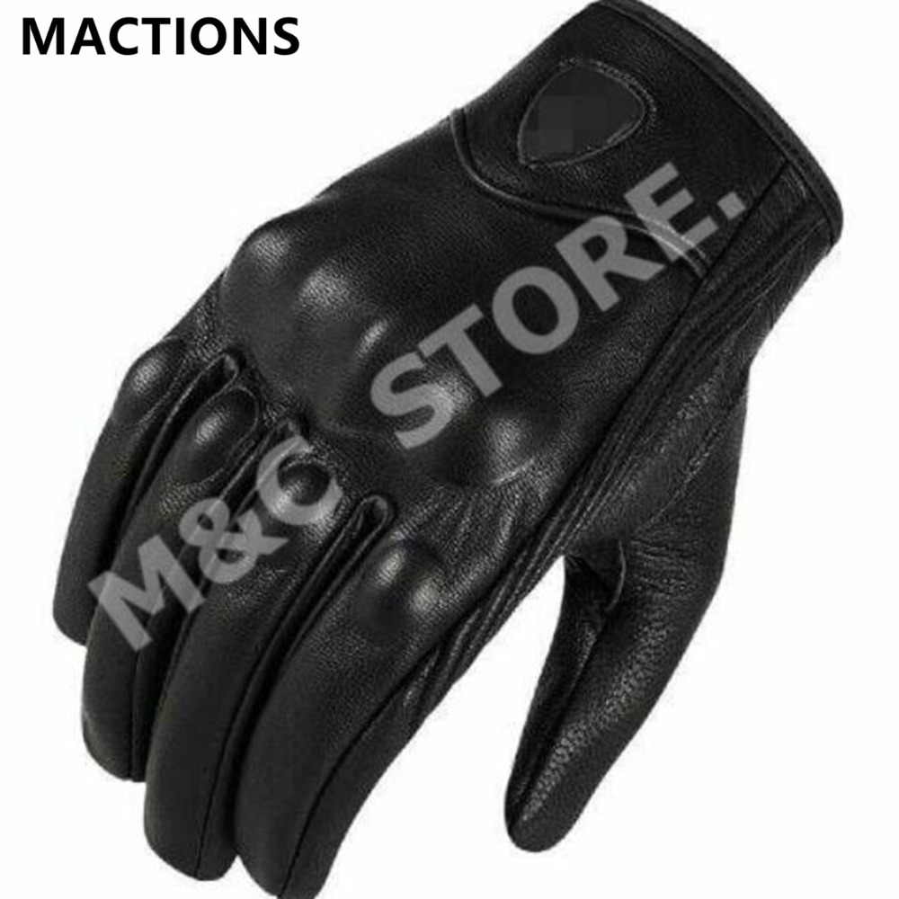 Buy leather bike gloves - 2015 Hot Sale Motorcyclists Leather Gloves Long Section Of Men S Leather Motorcycle Gloves Flame Gloves 98309
