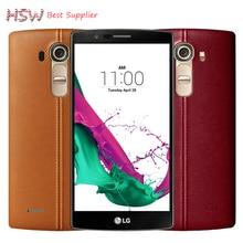 Original Unlocked LG G4 H815T Hexa Core 1.8GHz 5.5 inch 1440 x 2560px 3000mAh 3GB RAM 32GB ROM 16MP LTE Android Mobile Phone