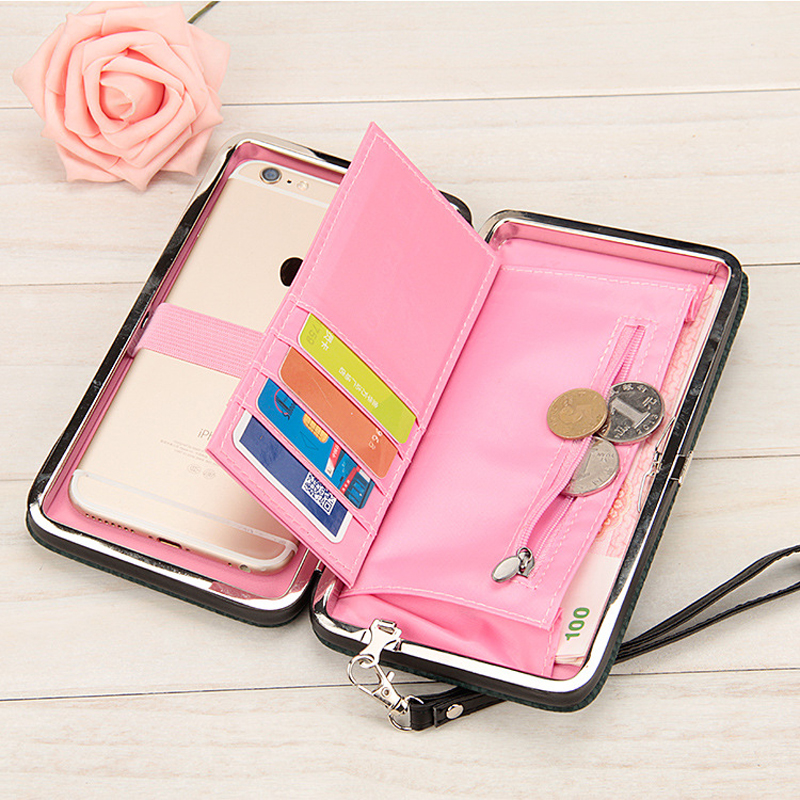 10 colors Purse wallet female famous brand card holders cellphone pocket gifts for women money bag clutch 888 все цены