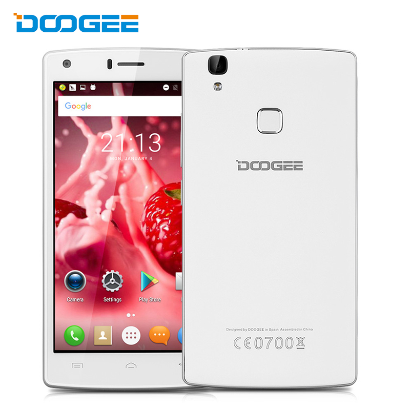 Doogee X5 MAX Mobile Phone 5 Inch 1280x720 HD MTK6580 Quad Core Andriod 6 0 1GB