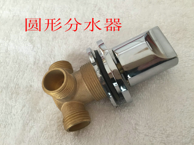built-in water diverter valve for bathtub faucet, shower faucet accessory