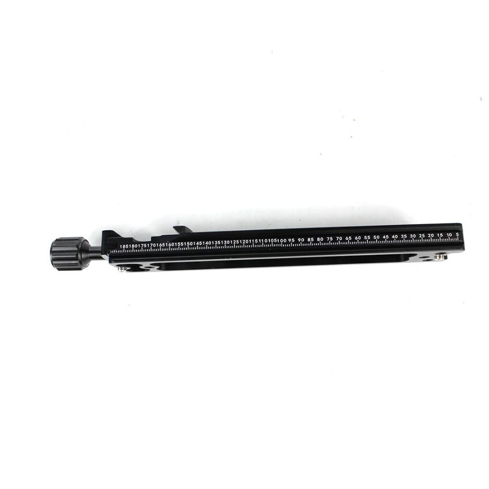 XILETU NNR-200 многофункциональная длинная Зажимная пластина 200 мм Узловая направляющая для штатива быстросъемная пластина Q19822