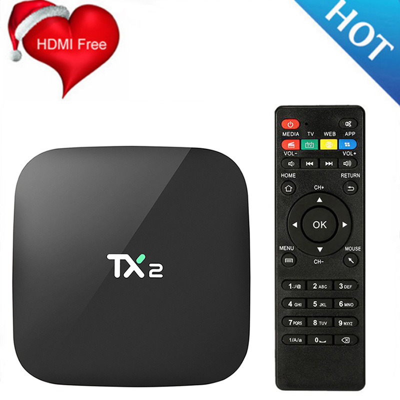 TX2 R2 Android TV BOX 2GB 16GB Bluetooth 2 1 4K 60tps 2 4GHz WiFi Quad Core Media Player IPTV Android Tv Set Top Box PK X96 Mini in Set top Boxes from Consumer Electronics
